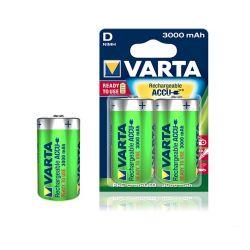 Batterie Rechargeable Varta D 3000 mAh