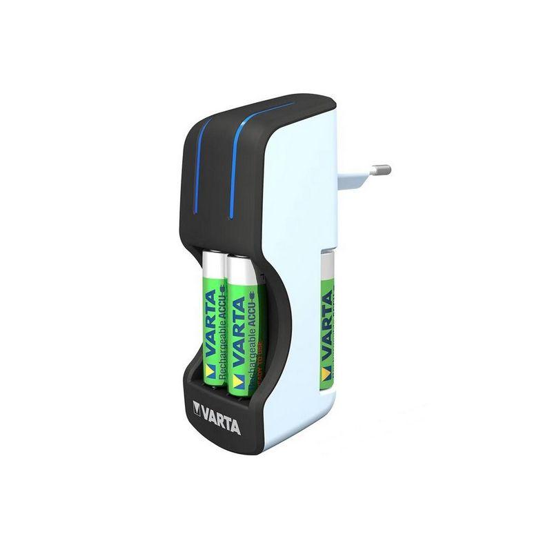 Cargador Varta Pocket + 4 pilas Recargable AA (1600 mAh)