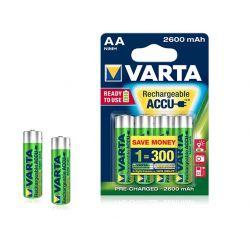 VARTA AA batterie rechargeable 2600mah