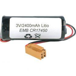 Batterie au Lithium CR17450