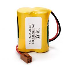 Les piles au Lithium 6V CR17450 avec connecteur