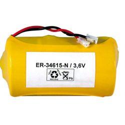 Lithium ER34615 câble et connecteur