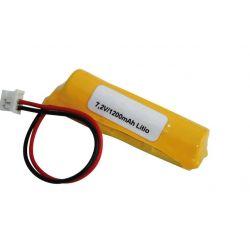 Batterie au Lithium 7.2 V 1200mah
