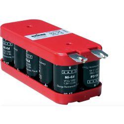 Batterie 12V batterie 1600mah NiCd Saft