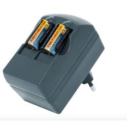 Chargeur + piles rechargeables CR123