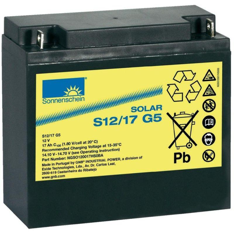 Batterie 12V 17Ah Sonnenschein