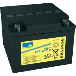 Batterie 12V 27Ah Sonnenschein