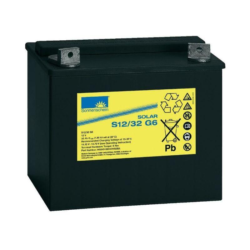 Batterie 12V 32Ah Sonnenschein