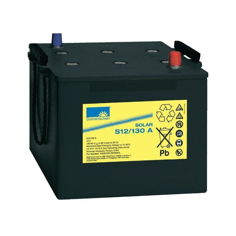 Batterie Sonnenschein 12V 130Ah