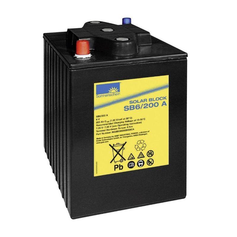 Batterie Sonnenschein 6V 200Ah
