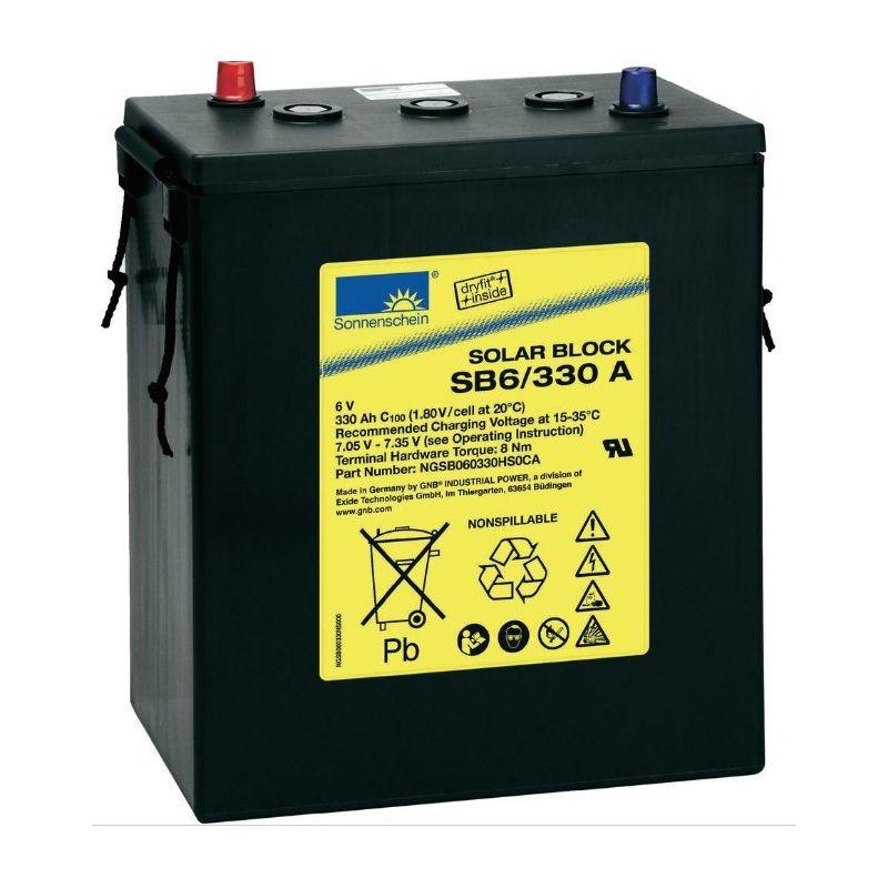 Batterie Sonnenschein 6V 330Ah