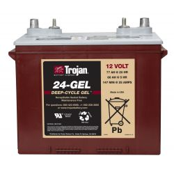 Batterie de TROIE 24-GEL