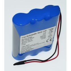 Pack de Batteries au Lithium 18650 Batterie 3,7 V 7800mAh