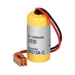 Batterie au Lithium de 3 v 1800mAh connecteur