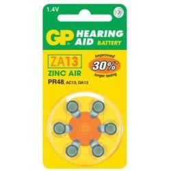 Pilas audífonos GP Mod.ZA13...