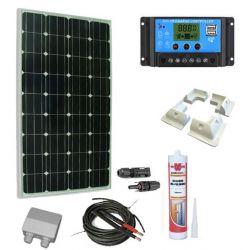 KIt solaire 100W caravaning Comme