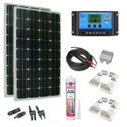 Kit solaire 300W personnalisable.