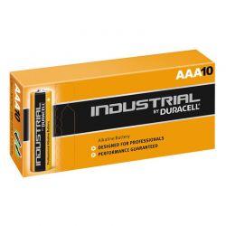 Batterie Duracell Industrial LR03 AAA 1,5 V boite de 10
