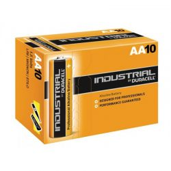 Duracell piles Industrielles LR6 AA 1,5 V boite de 10