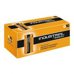 Batterie Duracell Industrial LR20 D 1,5 V Boîte de 10