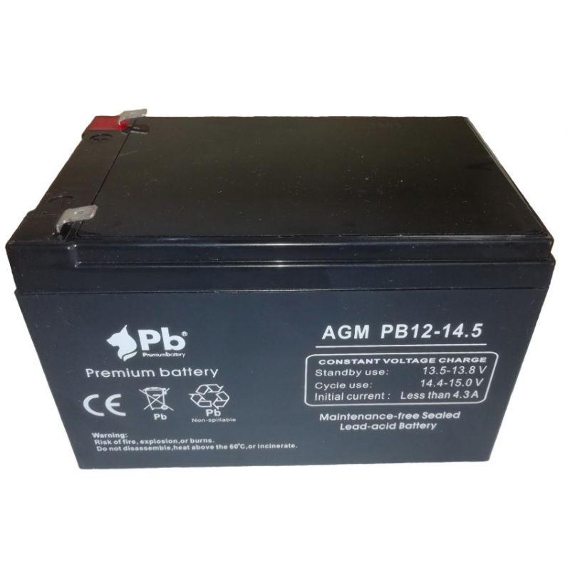 Batterie au plomb 12V 12A