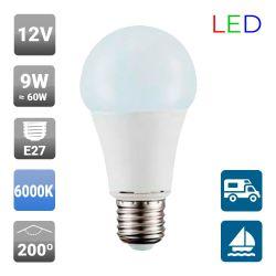 Lámpara Estándar LED 12V 9W E27