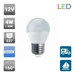 Lámpara Esférica LED 12V 4W E27