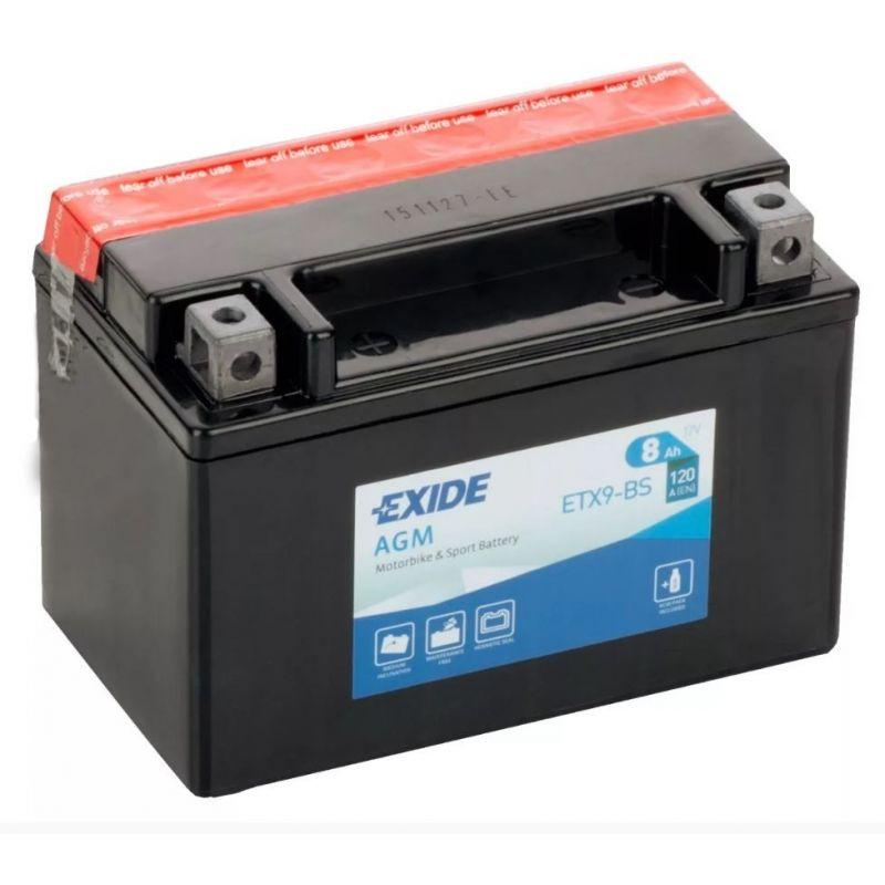 Exide AGM ETX9-BS