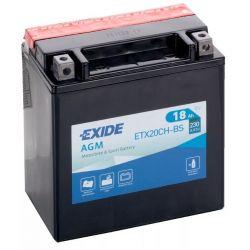 Exide AGM ETX20CH-BS