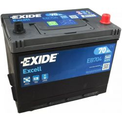 Batterie Exide Excell EB704