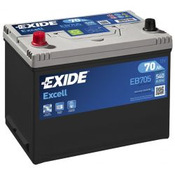 Batterie Exide Excell EB705