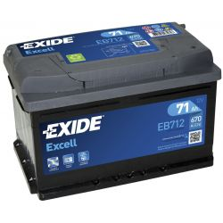 Batterie Exide Excell EB712