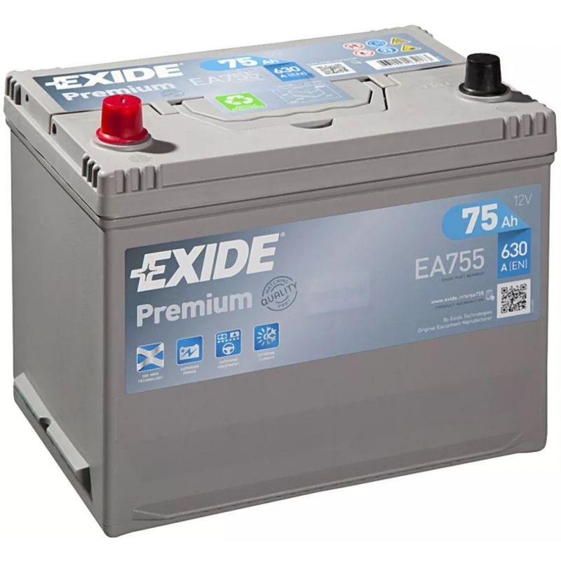 Batterie Exide Premium EA755