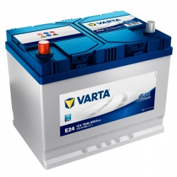 Batterie Varta E24 70Ah