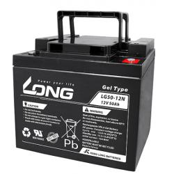 Batterie LONG de Gel 12V 50Ah