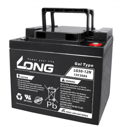 GEL batterie LONG 12V 50Ah