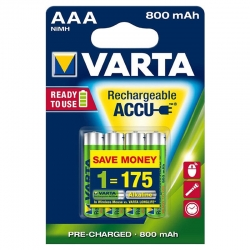 Piles rechargeables Varta...