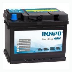Batterie INNPO AGA 60Ah 680A