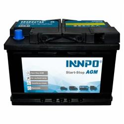 Batterie INNPO AGA 70Ah 760A