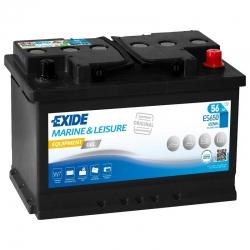 Batterie Exide ES650 GEL 56Ah