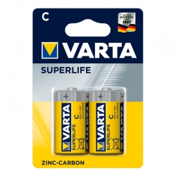 VARTA SuperLife C R14 Piles...