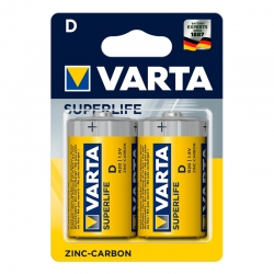 VARTA SuperLife D R20 Piles...