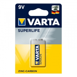 VARTA SuperLife 9V Piles...