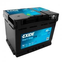 Batterie Exide EL600 60Ah