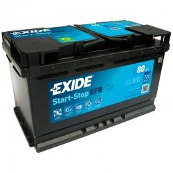 Batterie Exide EL800 80Ah