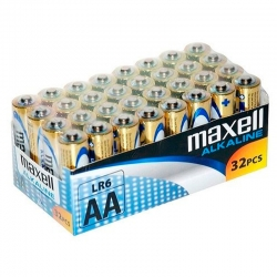 Piles Maxell Alcalines LR6...