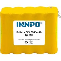 Batterie 24V 2000mAh Ni-Cd