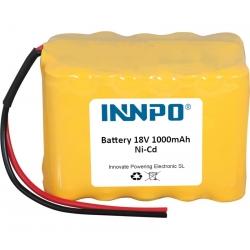 Batterie 18V 1000mAh Ni-Cd