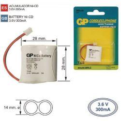 Batterie Téléphone sans fil T328 2,4 V 300 mah