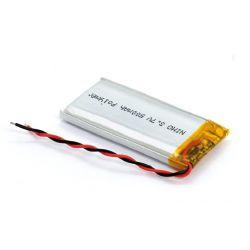 Batterie rechargeable de Li-polymère 500mAh